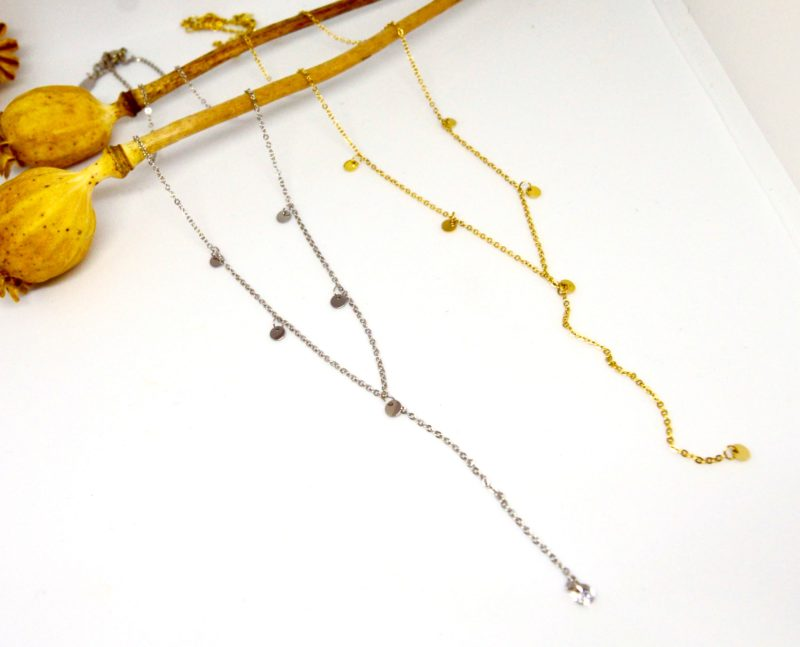 Náhrdelník z chirurgickej ocele